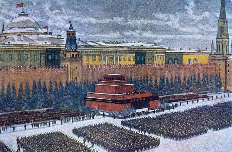 Парад Красной Армии 7 ноября 1941 года