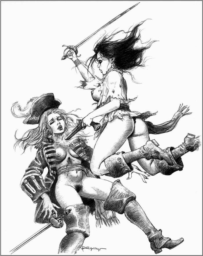 Графика: истории из жизни девушек - пираток (70)