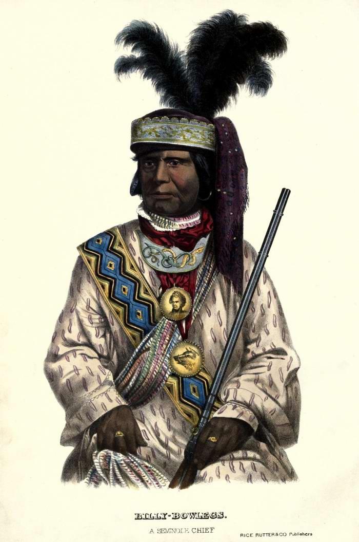 Вождь племени Seminole