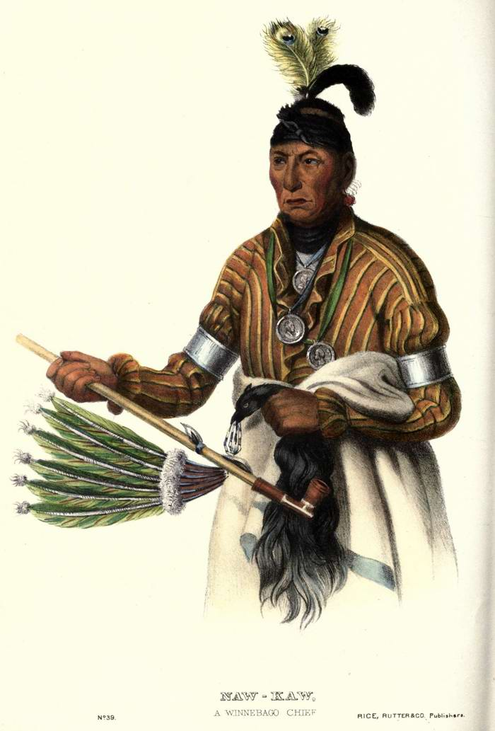 Вождь племени Winnebago