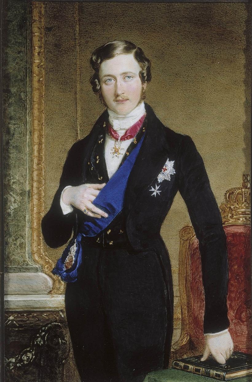 Сэр Уильям Росс (1794-1860) Принц Альберт (1819-1861)  1840