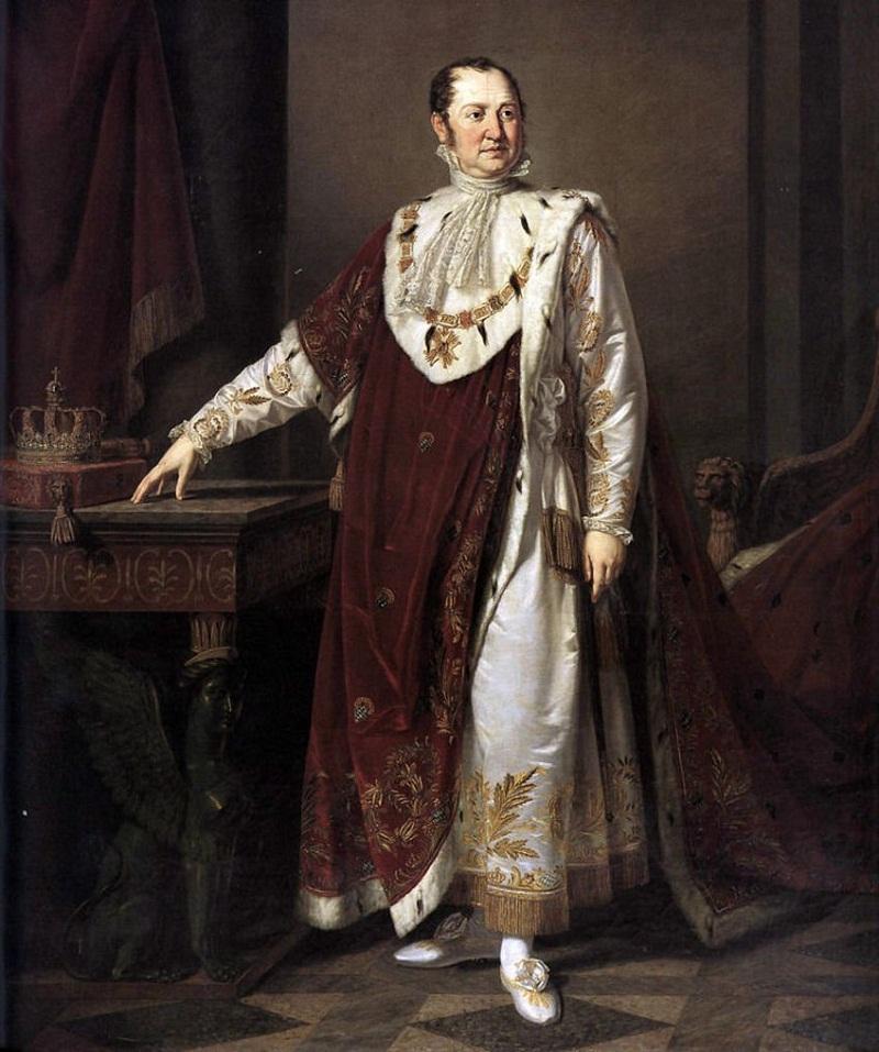 Moritz Kellerhoven, König Max I. von Bayern