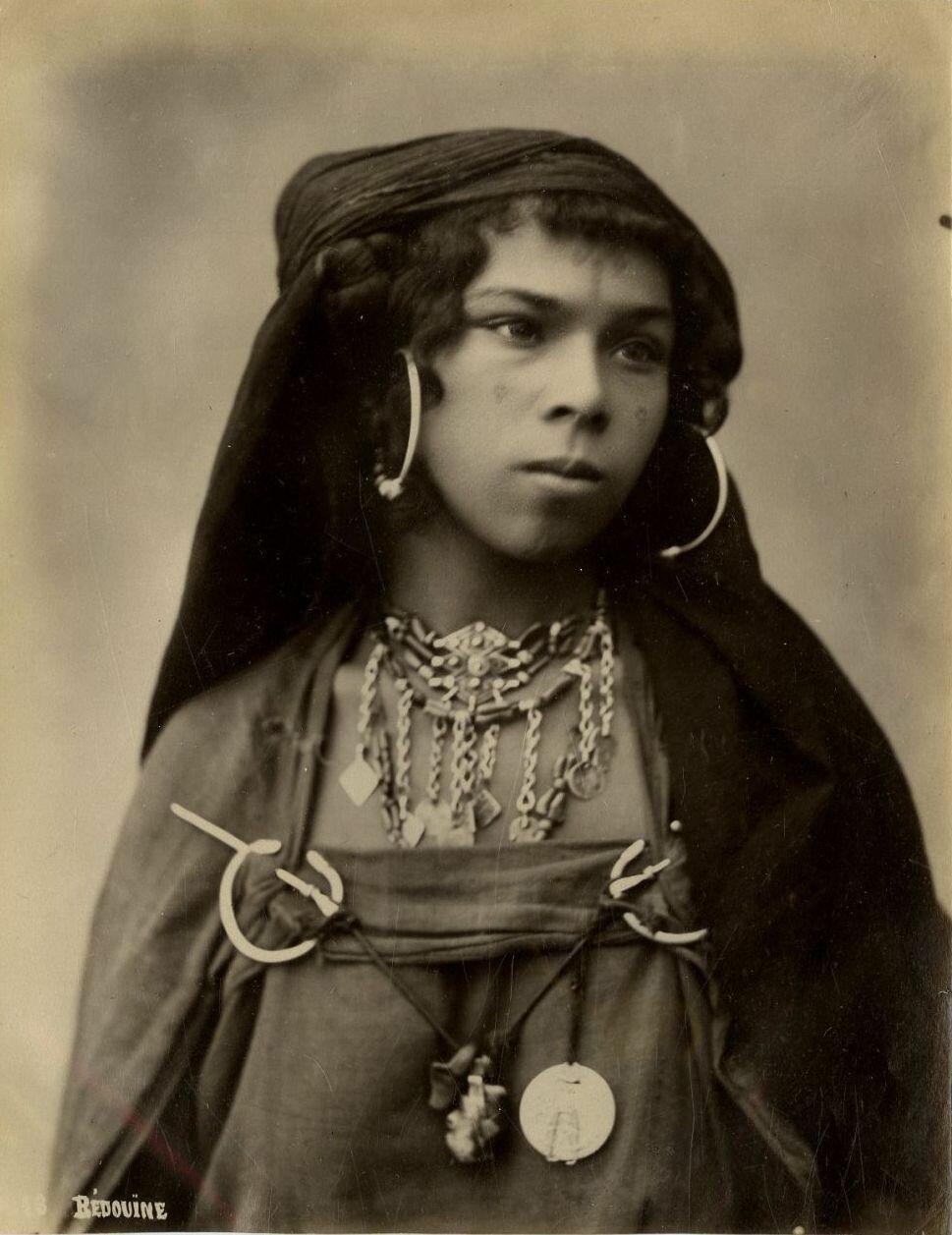 1875. Бедуинка