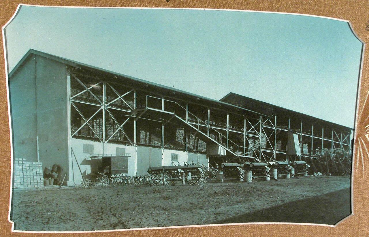 Часть территории Мариинского машиностроительного завода