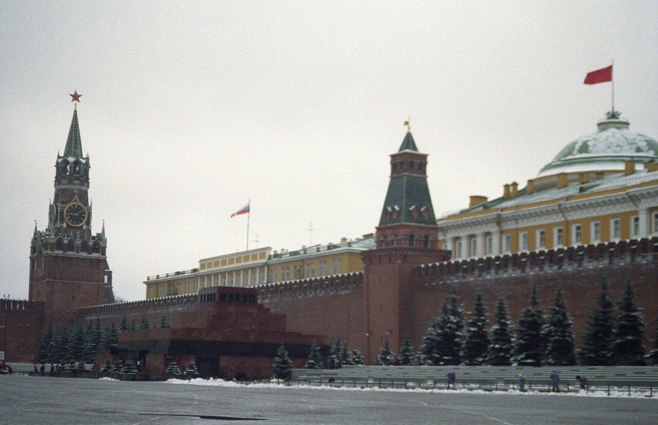 Россия в переходный период. Кремль
