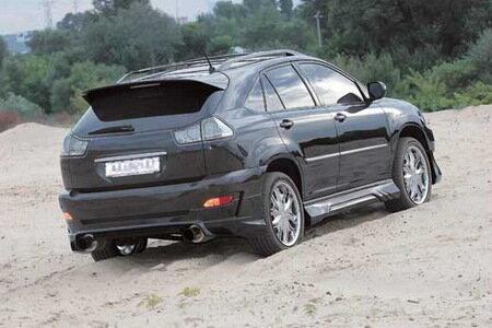 Тюнинг внедорожника Lexus RX400h