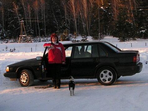 Оля — поклонница шведских автомобилей Volvo и Saab
