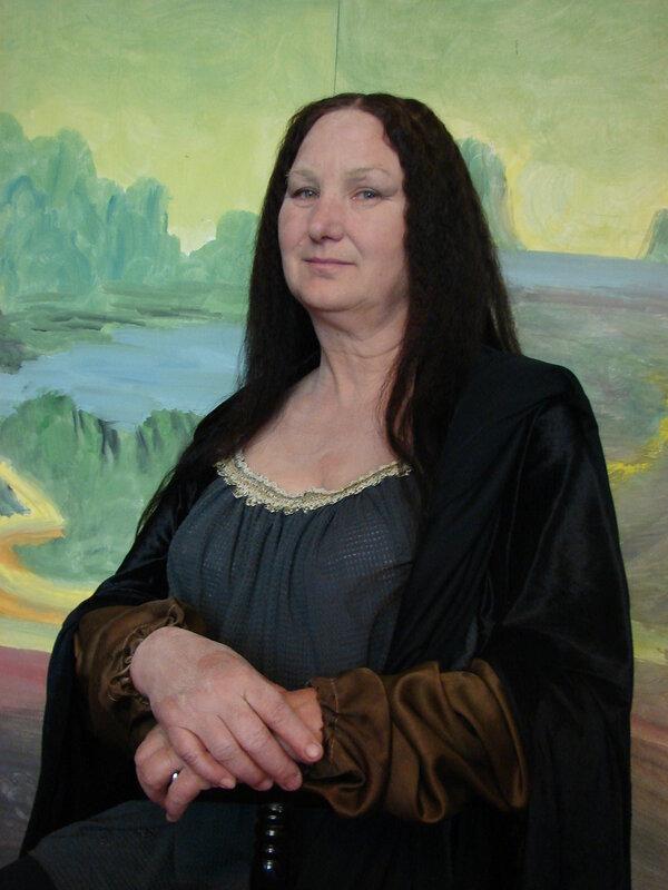 """""""Мона Лиза"""", фото-арт"""