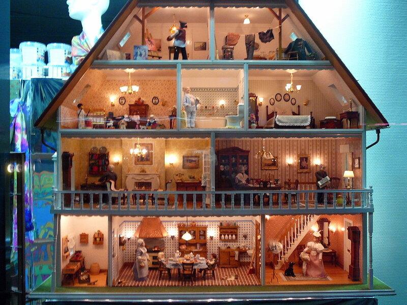 Фото дома для кукол своими руками