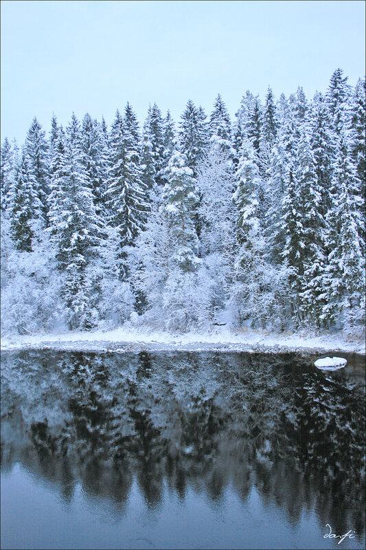 Зимнее отражение