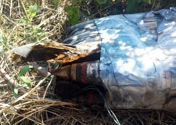 8 фугасных снарядов обнаружены возле популярного места отдыха в Славянске. ФОТОрепортаж