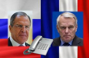 Лавров и Эро по телефону обсудили урегулирование кризиса на востоке Украины