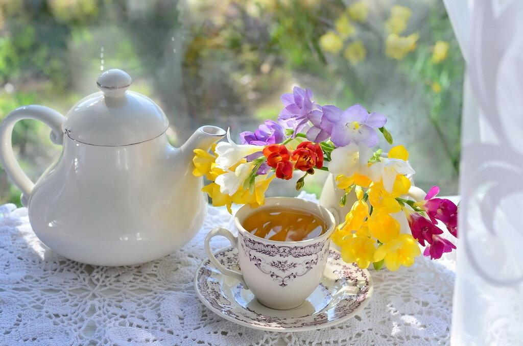 Весенний чай
