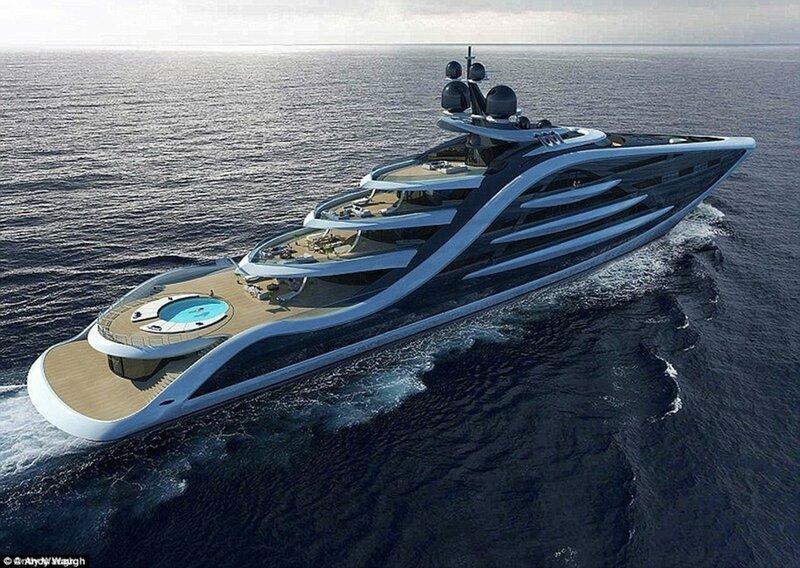Самое дорогое судно в мире 500 млн британских фунтов