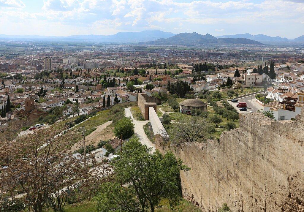 Гранада. Вид с холма Сан-Мигель