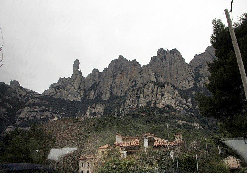 Montserrat landscapes