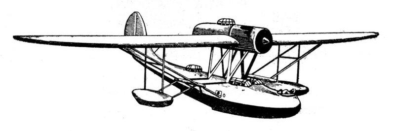 Силуэты итальянских самолетов (1939) 064