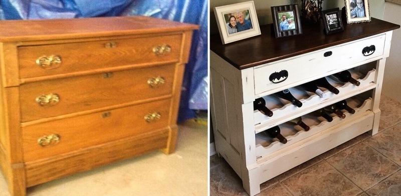 А еще из старого комода может получится дизайнерский диван!