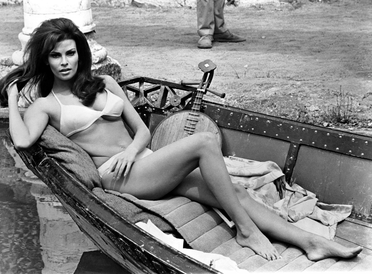 Ракель Уэлч, 1968.
