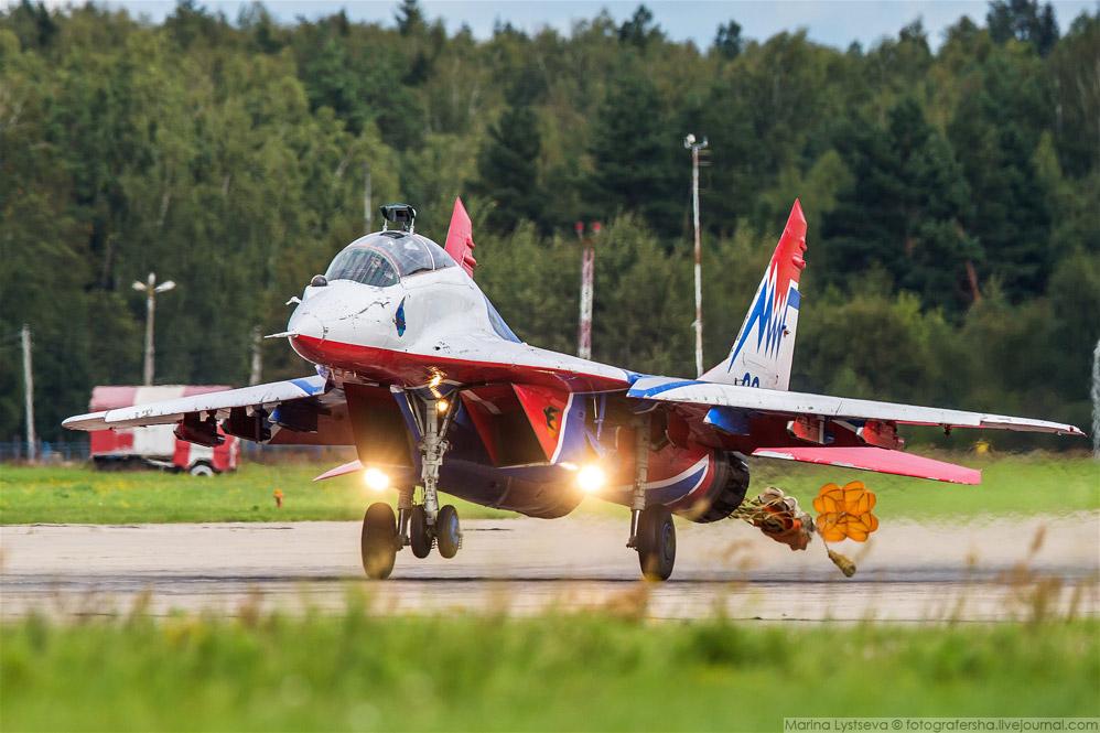 32. Липецкие Су-30СМ, они же «Соколы России».