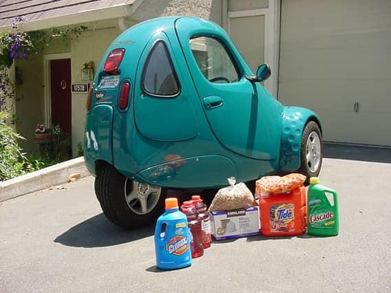 The Tango T600 Это авто тяжелее своих миниатюрных собратьев: его вес- полторы тонны. Зато оно отлича
