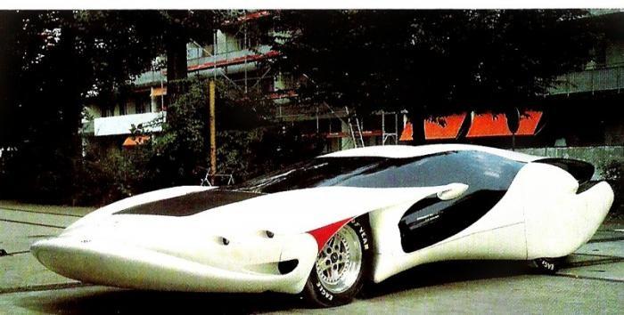 Colani Street-Ray (2006) Автомобиль с идеальной управляемостью, как характеризовал его сам создатель