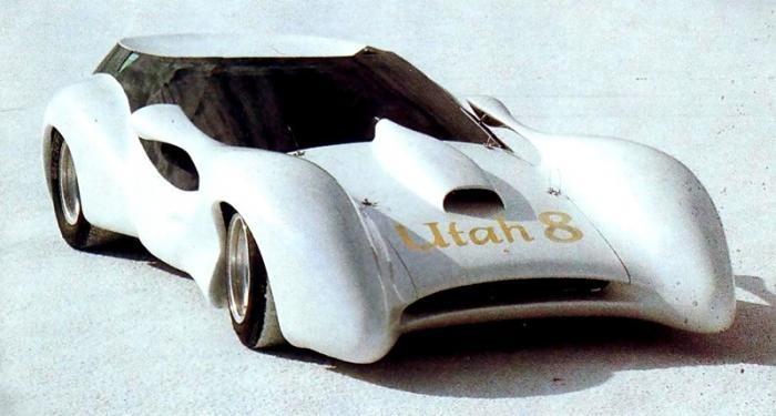 Colani L'Aiglon (1976) Безумной красоты и длинны винтажный родстер.