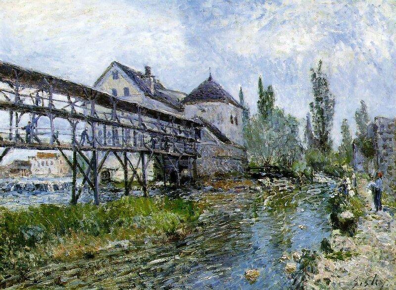 Sisley Provenchers mill at Moret, 1883.jpeg