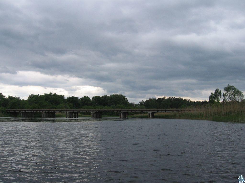 Мост через Ворсклицу в Катанском