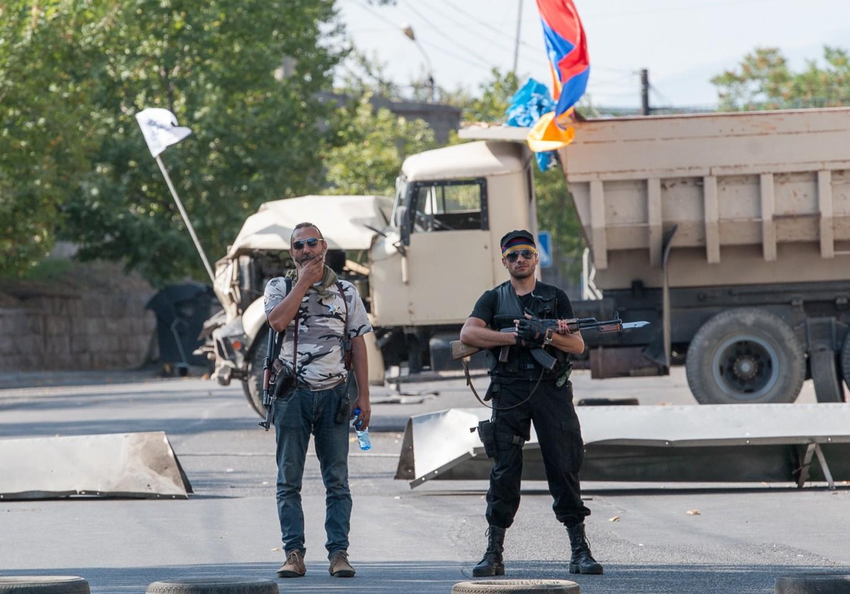 ВАрмении запретили продажу оружия