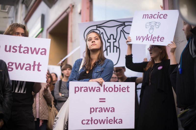 ВПольше пройдет акция протеста против запрета абортов