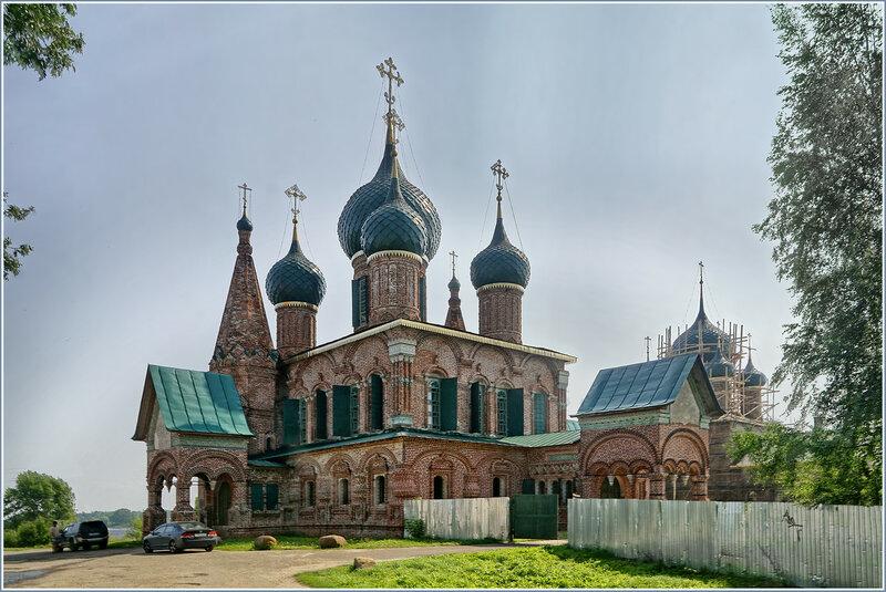 Храмовый комплекс в Коровниках. Ярославль