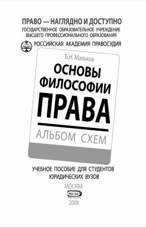 По философии права шпаргалка - 4c93