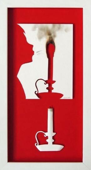 Бумажное искусство Daniel Mar