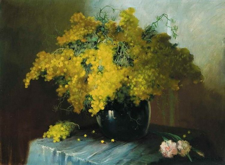 Henri Joseph Pauwels Mimosa. середина ХХ в..jpg