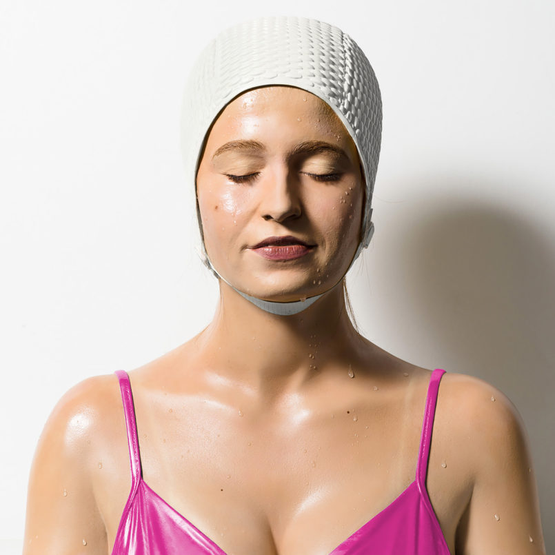 Realistic Swimmer Sculptures by Carole A. Feuerman