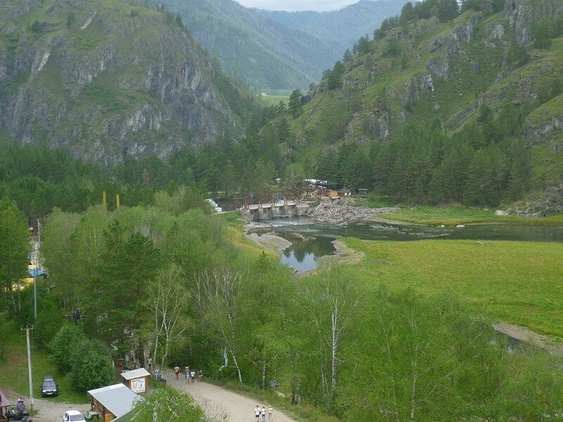 Алтай, Чемальская ГЭС (Altai, Chemal hydroelectric)