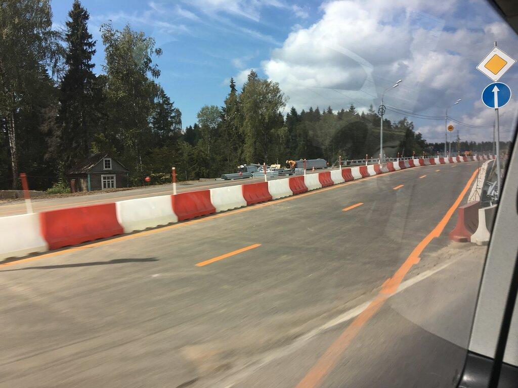 Открыто движение по новому путепроводу на 46-м км дороги А-104 «Москва-Дмитров-Дубна»