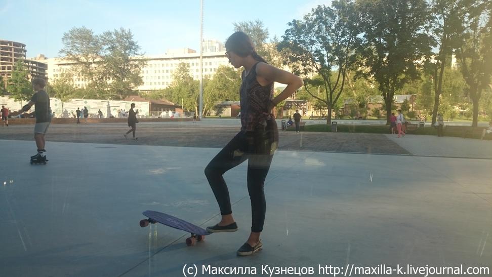 Скейтбордисточка