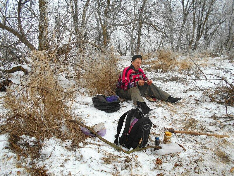 Плоды трудов своих вкушаем ... В походе декабрьском, снежно-туманном,