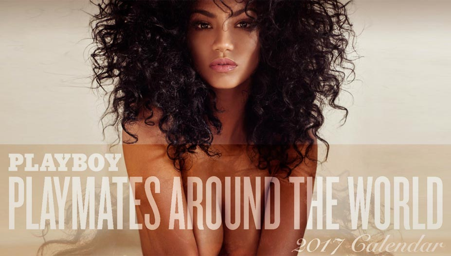 Playboy USA 2017 Official Calendar - Playmates Around the World