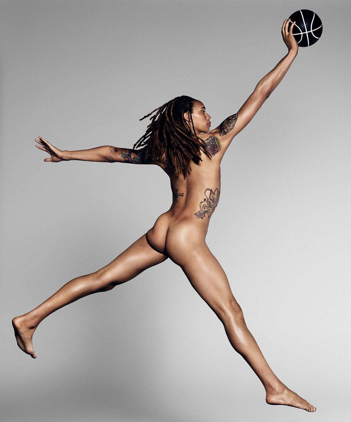ESPN Magazine The Body Issue 2015 - Brittney Griner / Бриттни Грайнер - Культ тела журнала ESPN