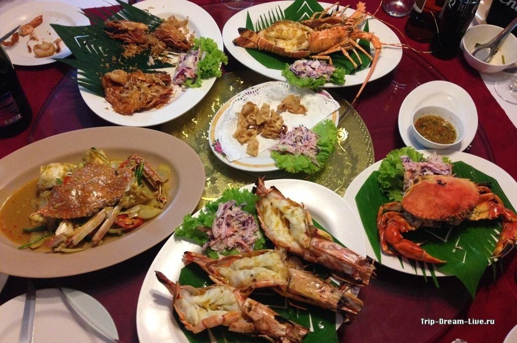 Тайские морепродукты