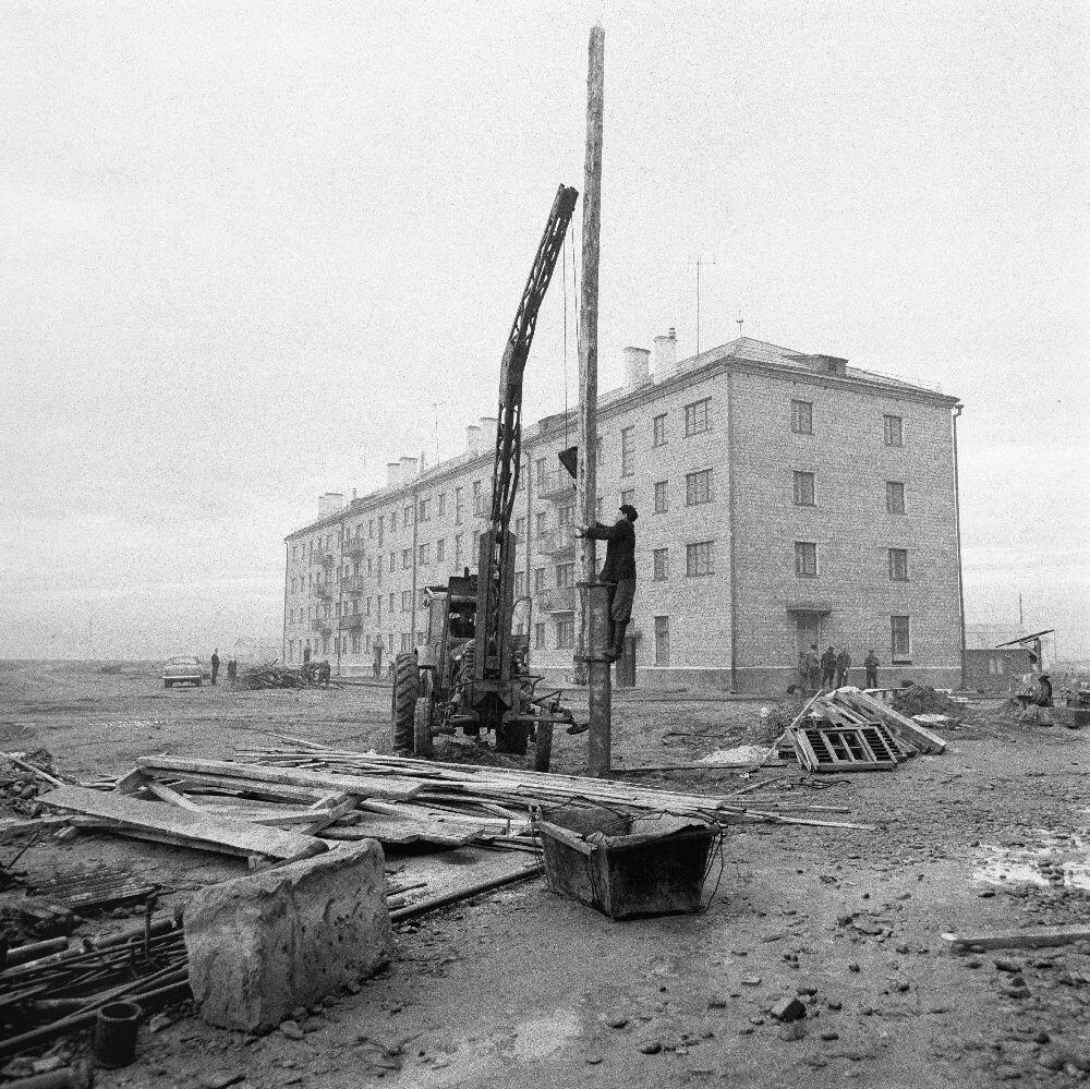 Минусинск. Строительство новых домов