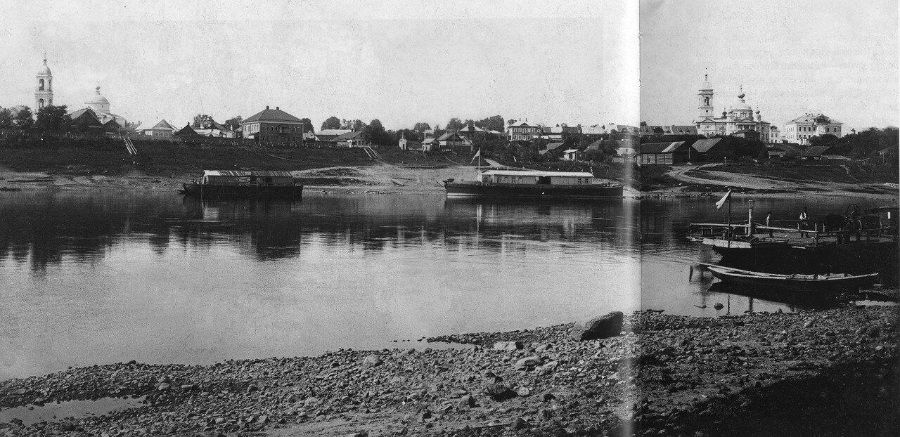 Вид с правого берега Волги