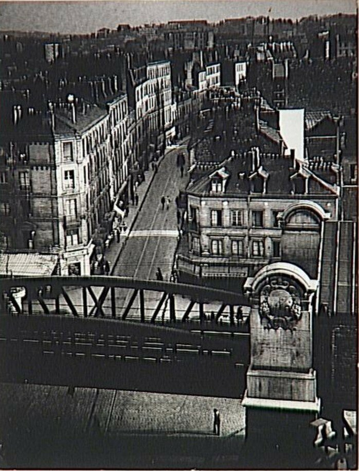 1931. Рю де ла Глетчер.  Отель «Терраса»