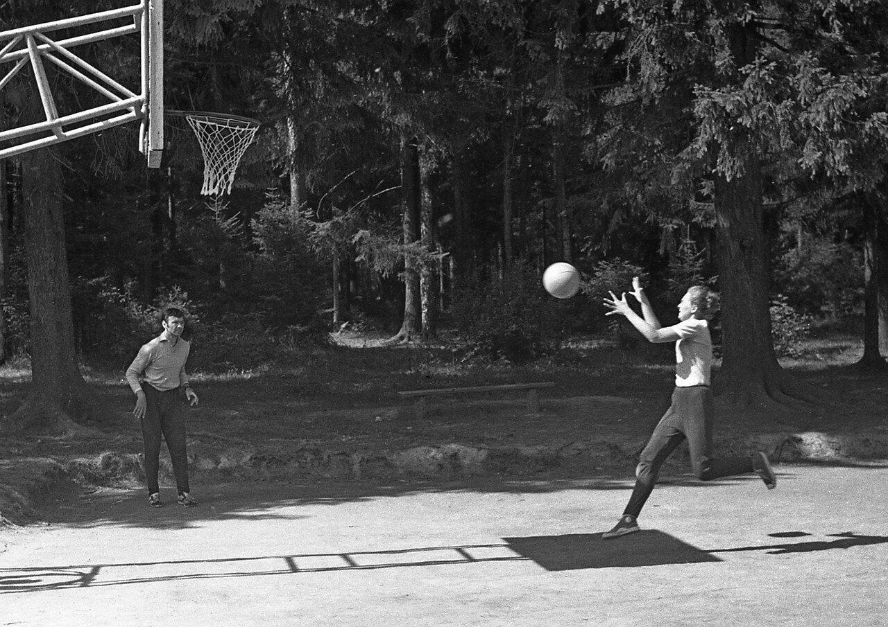 11. Баскетбол - тренировка