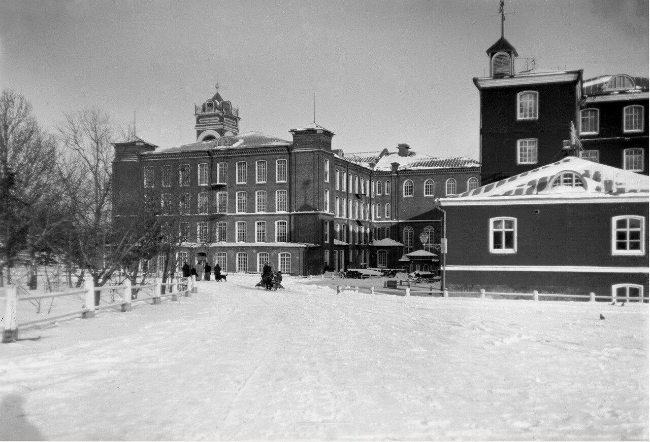 1890-е. Егорьевск. Здания Хлудовской мануфактуры