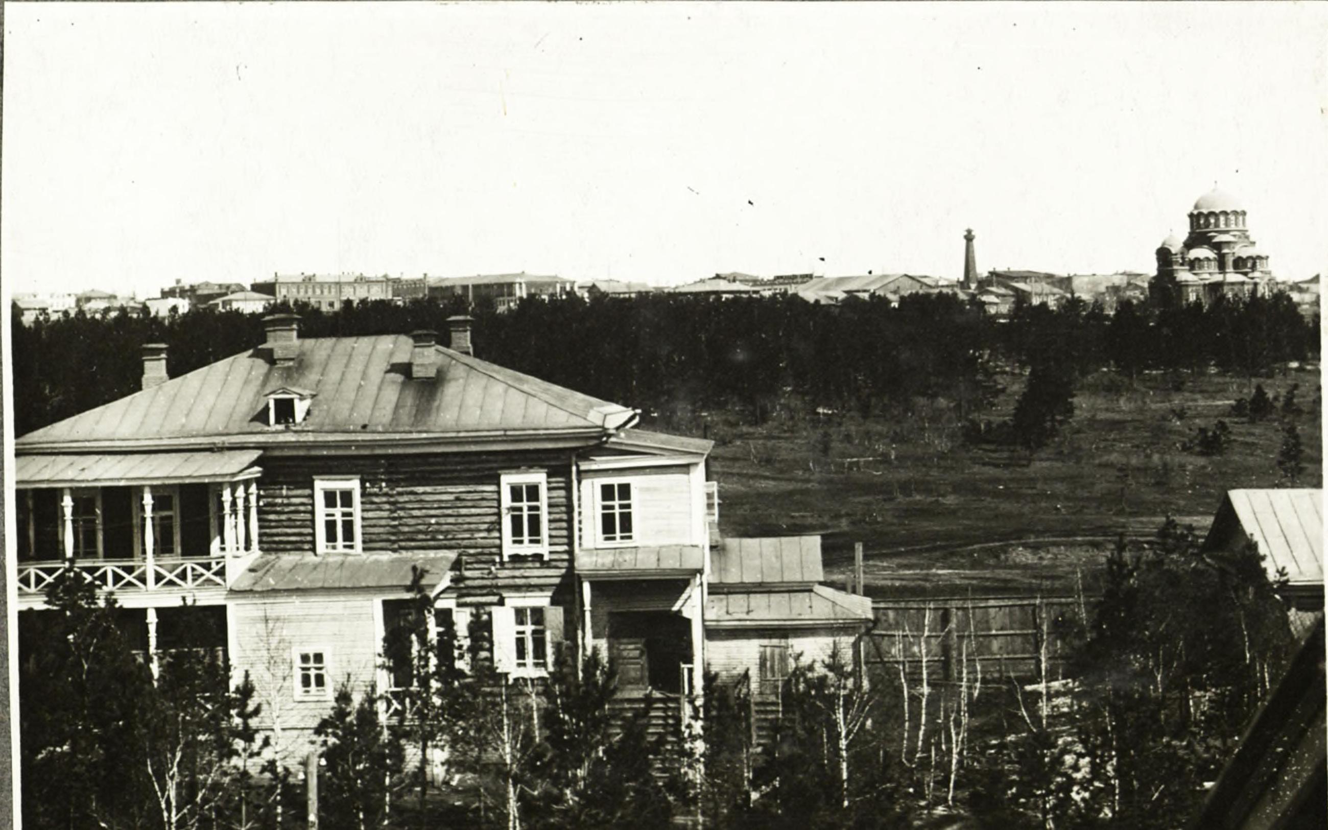 Вид города в 1912