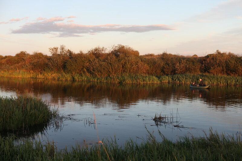 На берегу реки Нерль